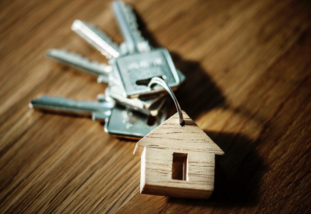 porte-clé immobilier