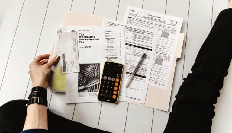 Impôts prélèvement à la source