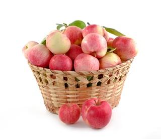 Pommes en hiver